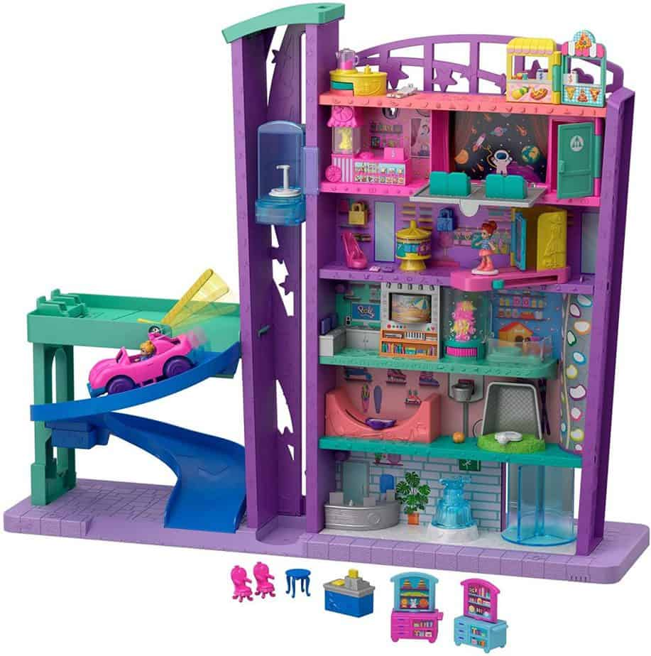 Polly Pocket - Centro commerciale - idea regalo bambino 5 anni