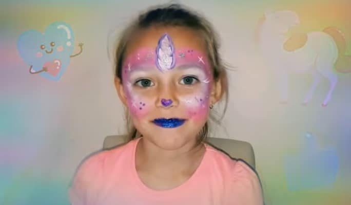 Make up Unicorno per bambine