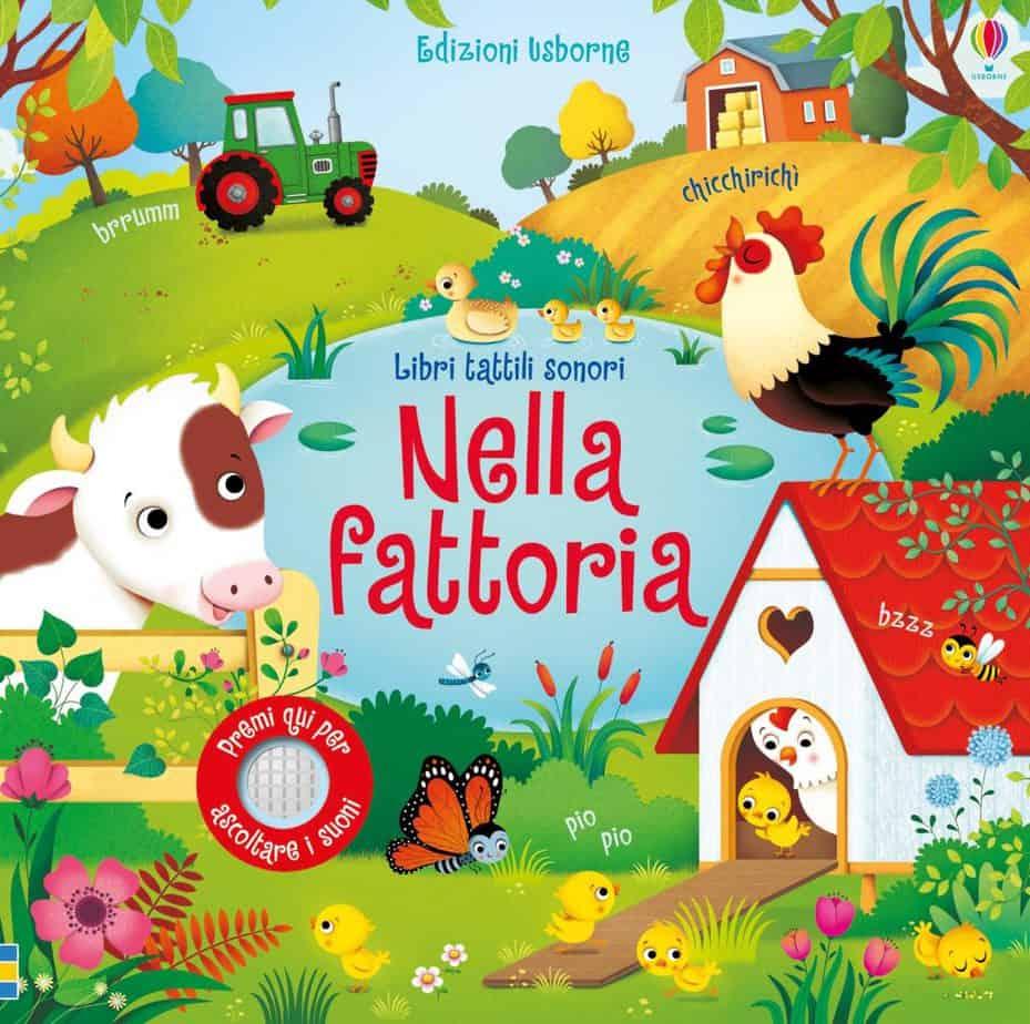 Nella Fattoria -  Sam Taplin e Federica Iossa - Libro sonoro per bambini di 2 anni