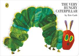 The very hungry caterpillar in inglese
